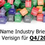 Domain Name Industry Brief für Q4/2017 veröffentlicht