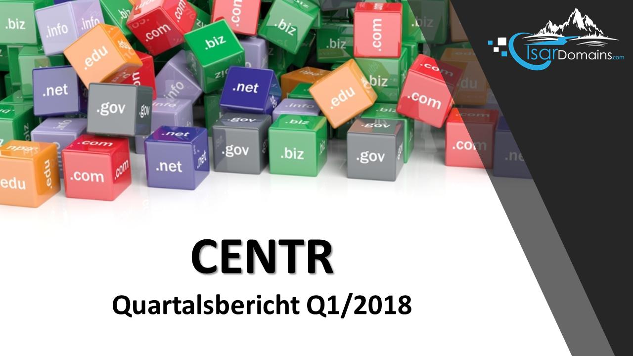 Titelbild: CENTR Quartalsbericht für Q1/2018