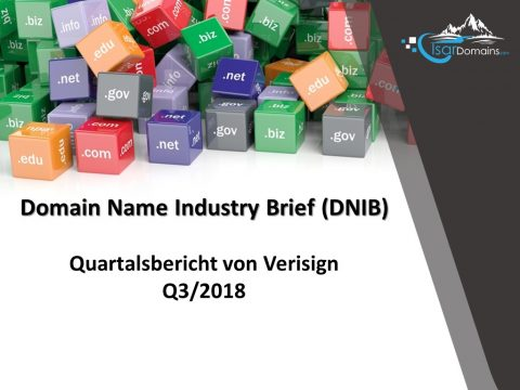 Verisign Domain Name Industry Brief DNIB Q3/2018