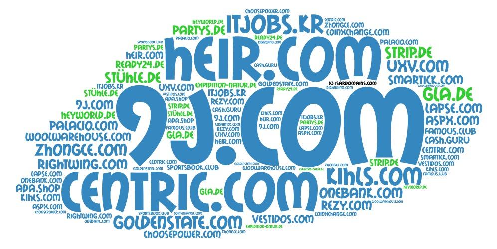 Domainhandel Top20 Domain Sales Report 2019 KW18