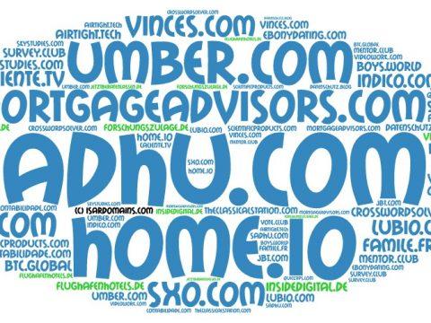 Domainhandel Top20 Domain Sales Report 2019 KW35