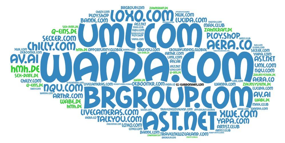 Domainhandel Top20 Domain Sales Report 2019 KW48