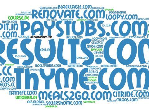 Domainhandel Top20 Domain Sales Report 2020 KW03