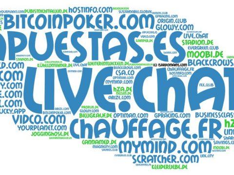 Domainhandel Top20 Domain Sales Report 2020 KW04/KW05