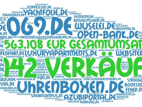 Domainhandel: 2020 - Q2 DE Sales Report