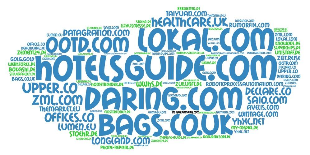 Domainhandel Top20 Domain Sales Report 2020 KW36/KW37